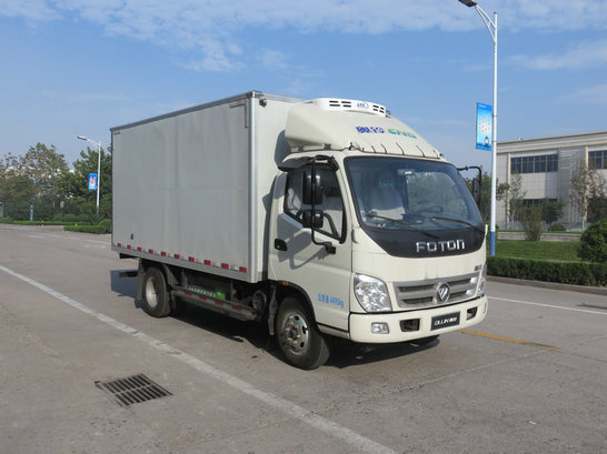 国五福田奥铃天燃气冷藏车(4米)