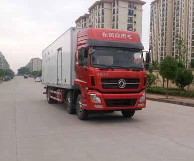 国五东风天龙小三轴冷藏车(9米4)