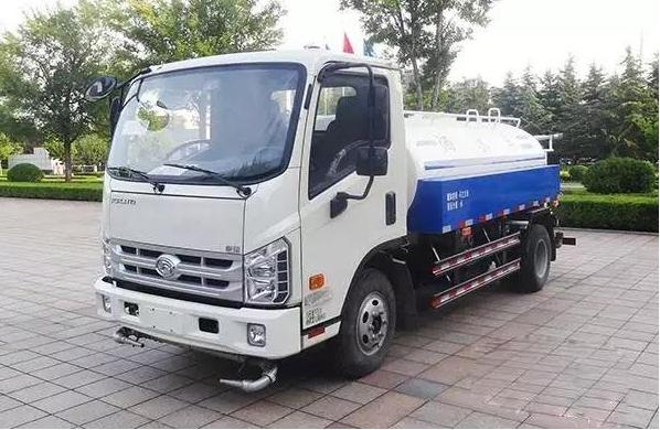 5方(吨)福田康瑞绿化喷洒车(国五)