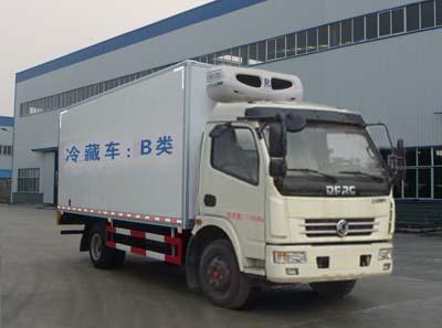 东风多利卡国五D7冷藏车(5米)