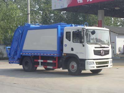 国五东风10-12方压缩式垃圾车