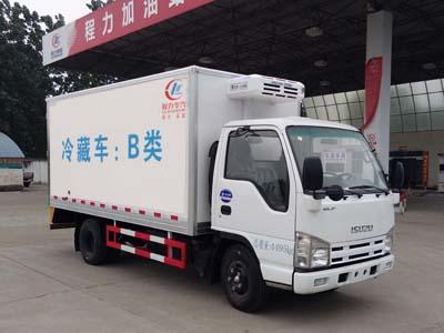 国五庆铃五十铃600P冷藏车(4米2)