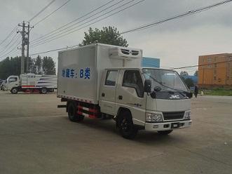 江铃双排座国五冷藏车(3米4)