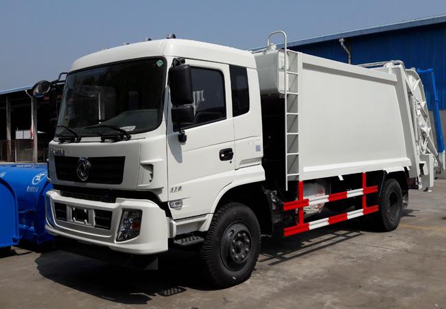 国五东风天锦压缩式垃圾车