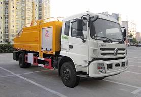 程力威牌CLW5163GQWE5型清洗吸污车