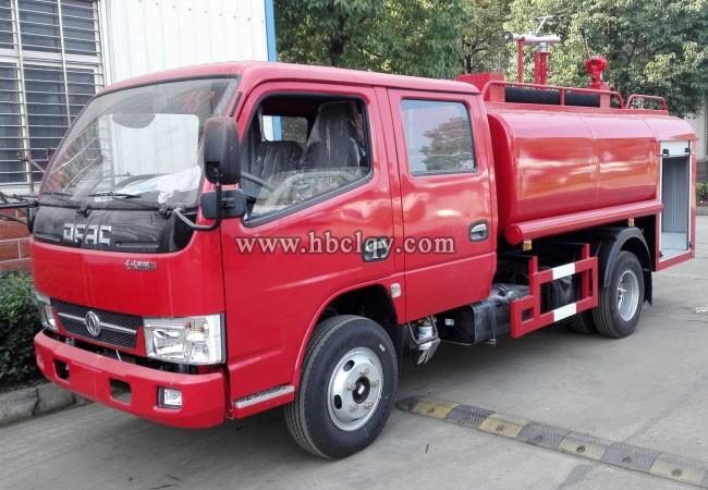 4方(吨)东风双排森林『消防洒水车』(国五)