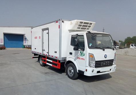 4米2纯电动冷藏车