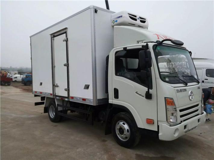 大运箱式冷藏车(单排4米2/双排4米2)
